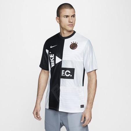 Maillot Nike F.C. noir blanc