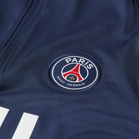 Sweat zippé PSG bleu rouge 2020/21