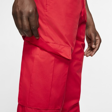 Pantalon survêtement Nike F.C. microfibre rouge