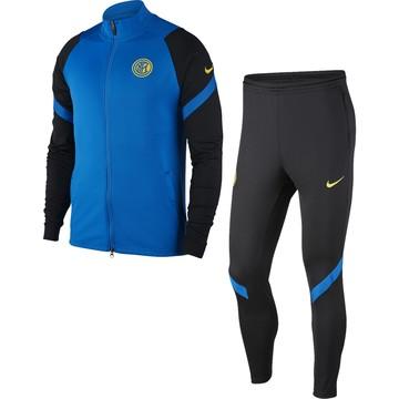 Ensemble survêtement Inter Milan bleu noir 2020/21
