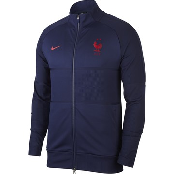Veste survêtement Equipe de France Anthem Strike bleu 2020