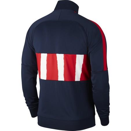 Veste survêtement Atlético Madrid I96 Anthem bleu rouge 2020/21