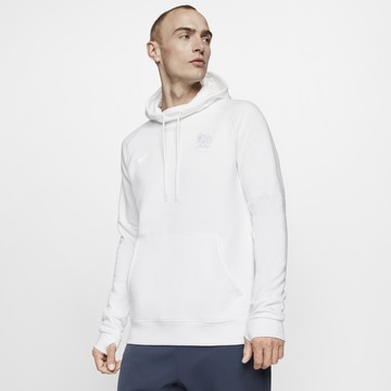 Sweat à capuche Equipe de France GFA Fleece blanc 2020