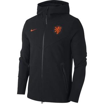 Veste survêtement Pays Bas Tech Fleece noir orange 2020