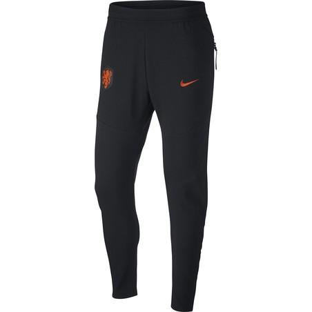 Pantalon survêtement Pays Bas Tech Fleece noir orange 2020