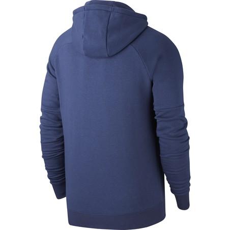 Sweat à capuche Croatie GFA Fleece bleu 2020