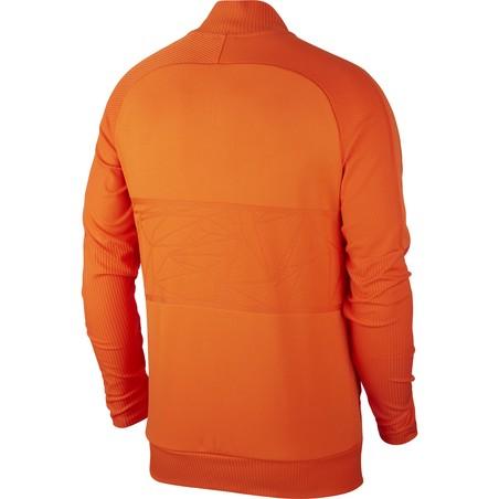 Veste survêtement Pays-Bas Anthem orange 2020