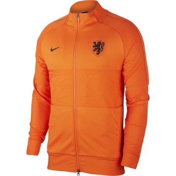Veste survêtement Pays-Bas Anthem orange 2020