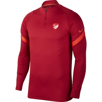 Sweat zippé Turquie rouge 2020