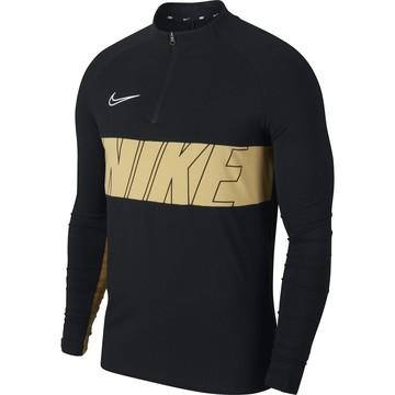 Sweat zippé Nike Academy noir or 2019/20