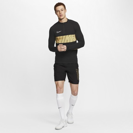 Sweat zippé Nike Academy noir or 2019/20