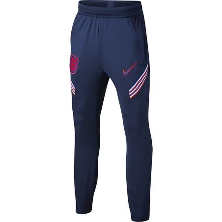 Pantalon survêtement junior Angleterre bleu rouge 2020