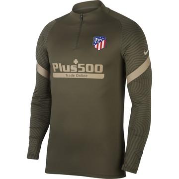 Sweat zippé Atlético Madrid vert 2020/21
