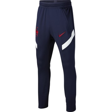 Pantalon survêtement junior Equipe de France bleu 2020