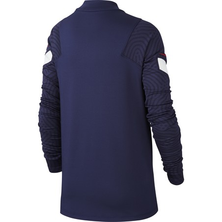 Sweat zippé junior Equipe de France bleu 2020
