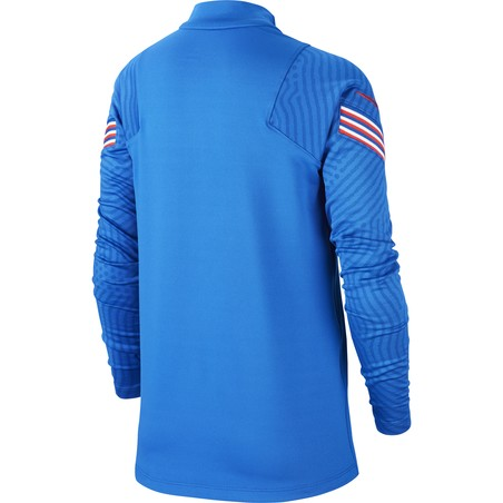 Sweat zippé junior Angleterre bleu 2020