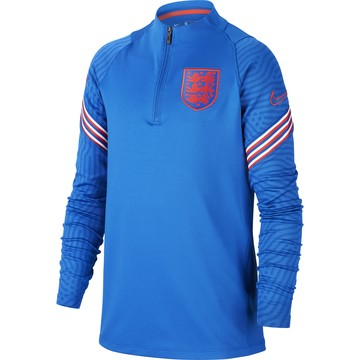Sweat zippé junior Angleterre bleu 2020