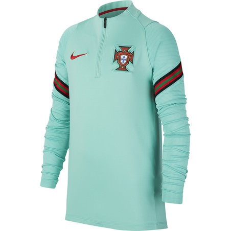 Sweat zippé junior Portugal bleu 2020