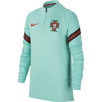 Sweat zippé junior Portugal bleu 2020