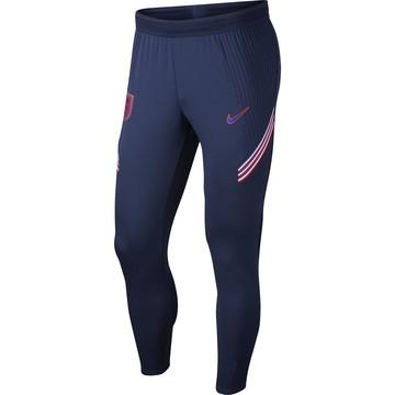 Pantalon survêtement Angleterre VaporKnit bleu rouge 2020