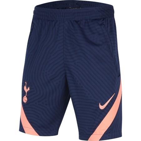 Short entraînement junior Tottenham bleu rose 2020/21
