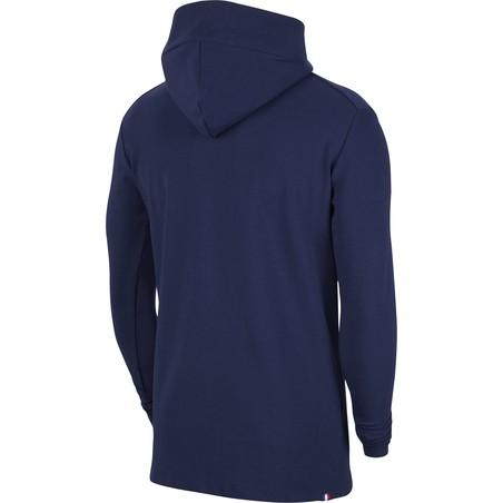 Veste survêtement PSG Tech Fleece bleu 2020/21