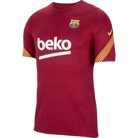 Maillot entraînement FC Barcelone rouge 2020/21