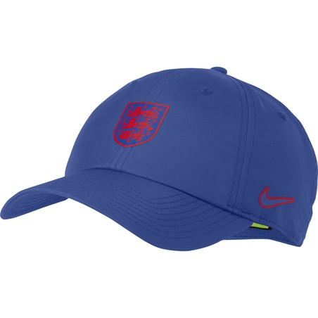 Casquette Angleterre bleu rouge 2020