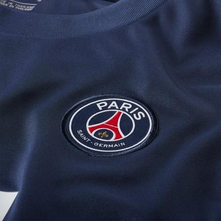 Maillot entraînement PSG bleu rouge 2020/21