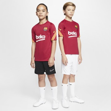 Maillot entraînement junior FC Barcelone rouge 2020/21