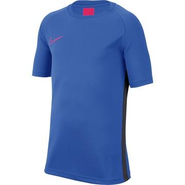 Maillot entraînement junior Nike Academy bleu rouge 2019/20