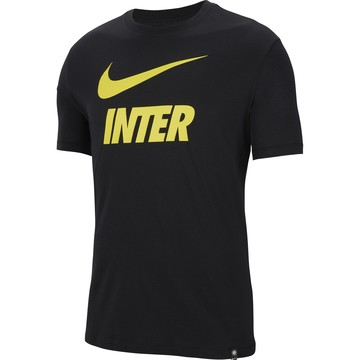 T-shirt Inter Milan noir jaune 2020/21