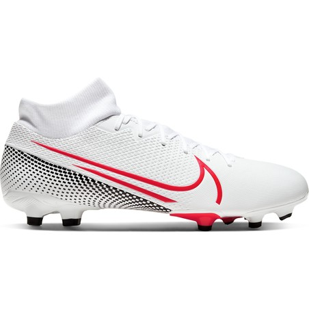 Mercurial Superfly VII Academy FG/MG blanc rouge