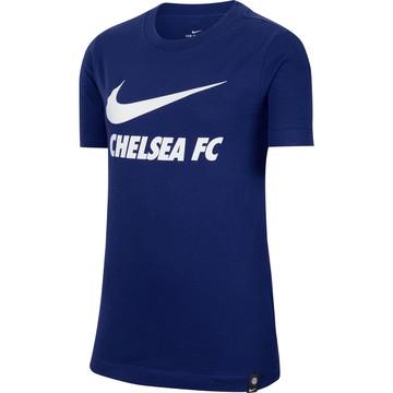 T-shirt Chelsea bleu blanc 2020/21