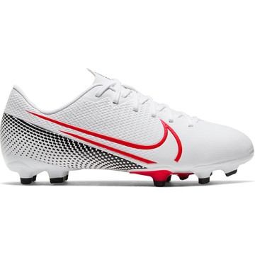 Mercurial Vapor XIII junior Academy FG/MG blanc rouge