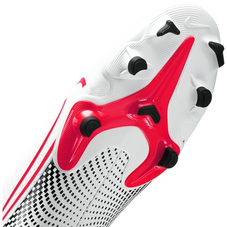 Mercurial Vapor XIII Academy FG/MG blanc rouge