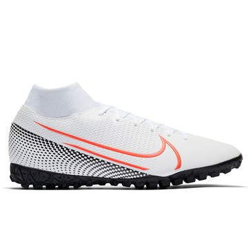 Mercurial Superfly VII Academy Turf blanc rouge