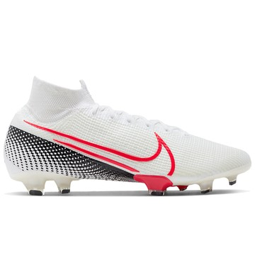 Mercurial Superfly VII Elite FG blanc rouge