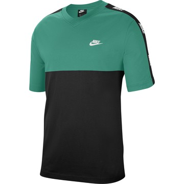 T-shirt Nike Sportswear vert noir 2020/21