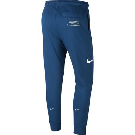 Pantalon survêtement Nike Sportswear Swoosh bleu 2020/21