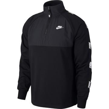 Sweat zippé Nike Sportswear Hybrid noir 2020/21