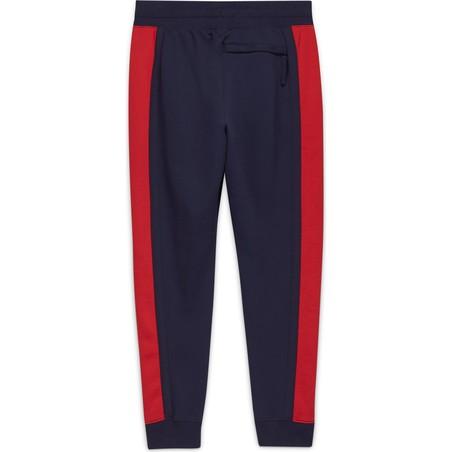 Pantalon survêtement Equipe de France Nike Air Fleece bleu rouge 2020