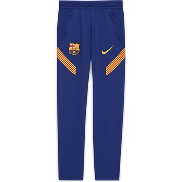 Pantalon survêtement junior FC Barcelone Strike bleu 2020/21