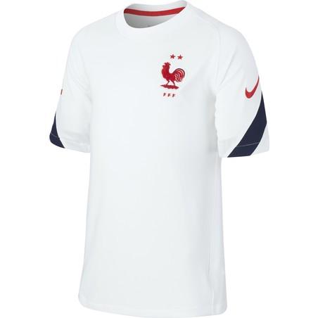 Maillot entraînement junior Equipe de France blanc 2020