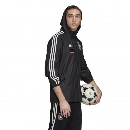 Coupe vent Allemagne noir 2020