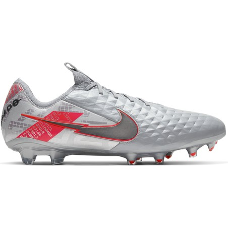 Nike Tiempo Legend 8 Elite FG gris rouge