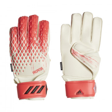 Gants Gardien junior adidas Predator rouge