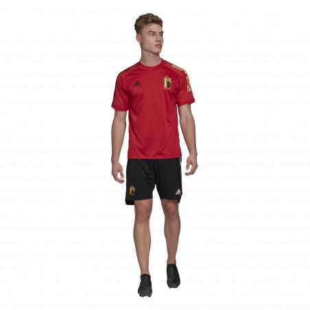 Short entraînement Belgique noir 2020