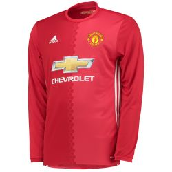 Maillot domicile Manchester United manches longues 2016 - 2017