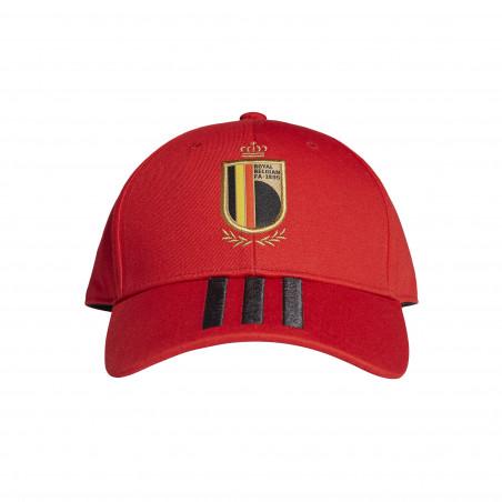 Casquette Belgique rouge 2020